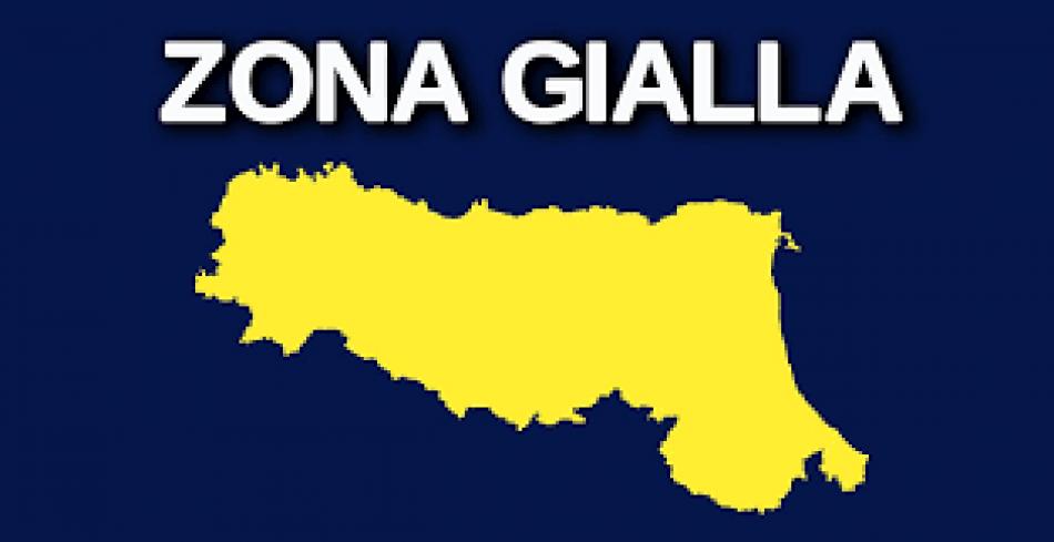 zona gialla emilia roomagna